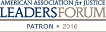 American Association for Justice Leaders Forum Patron 2016