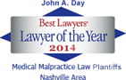 Best Lawyers badge - Lawyer of the year 2014