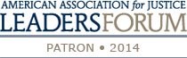 American Association for Justice Leaders Forum Patron 2014