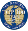 TNTL Top 100 Trial Lawyers badge