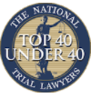 TNTL Top 40 under 40 badge