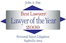Best Lawyers badge - Lawyer of the year 2009
