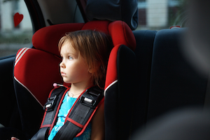 child seat injury