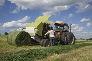 hay baler accident