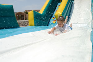 inflatable water slide accidents