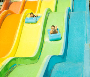 water slide accidents